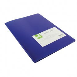 Q-Connect Display Book 10 Pocket Blue KF01247