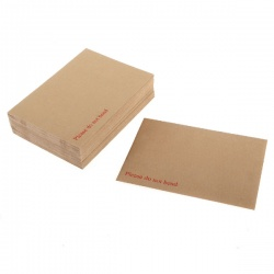 Q-Connect Board Back Envelope C3 458 x 324mm 115gsm Manilla Peel and Seal (Pack of 50) KF01409