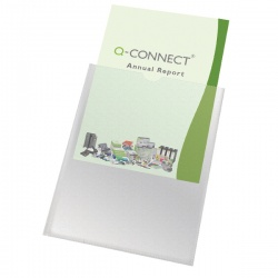 Q-Connect Card Holder A4 KF01947 (Pack of 100)
