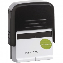 Q-Connect Voucher for Self-Inking Stamp 35 x 12mm KF02110