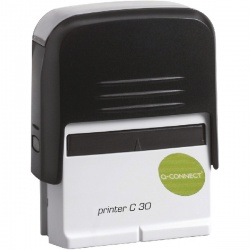 Q-Connect Voucher for Self-Inking Stamp 45 x 15mm KF02111