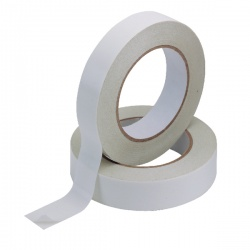 Q-Connect Clear Double-Sided Tape 25 mm (Pack of 6) KF02221
