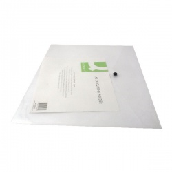 Q-Connect Clear Plastix A3 Document Folder (Pack of 12) KF02464