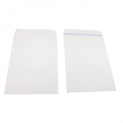 Q-Connect Pocket Envelope B4 353 x 250mm Self Seal 100gsm White (Pack of 250) KF02896