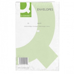 Q-Connect C5 Envelopes 100gsm Plain Peel and Seal White (Pack of 500) KF03289
