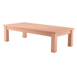 Arista Beech Rectangular Reception Table 1100x600mm KF03326