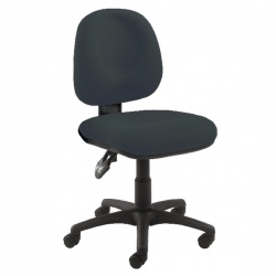 Arista Concept Medium Back Permanent Contact Operator Charcoal Chair KF03453