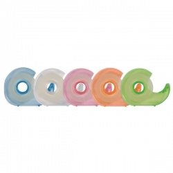 Q-Connect Handheld Tape Dispenser 19mm x 33m (Pack 10) KF27009