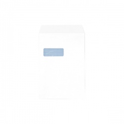 Q-Connect C4 Envelopes Window 90gsm Self Seal White (Pack of 250) 2907