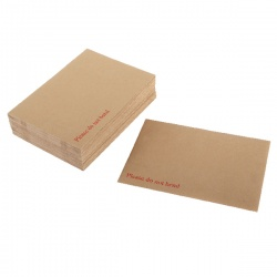 Q-Connect Board Back Envelope 238 x 163mm 115gsm Peel and Seal Manilla (Pack of 125) KF3518