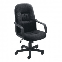 Jemini High Back Manager Charcoal Chair KF50178