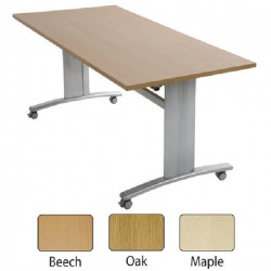 Arista Beech Fliptop Style Table Rectangular 1600x800mm KF71423