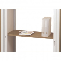 Arista Adjustable Wooden Shelf Beech KF72142
