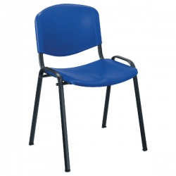 Jemini Multipurpose Polypropylene Stacking Chair Blue KF72368