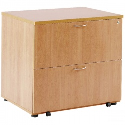 Arista Desk High Side Filer Beech KF72416