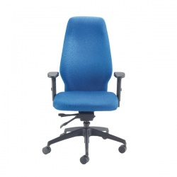 Avior Blue Super Deluxe Extra High Back Posture Chair KF72588