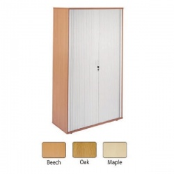 Arista Maple Side Opening Tambour Cupboard KF838315