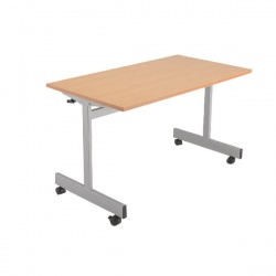 Jemini 1600mm Flip Top Table Beech KF838322