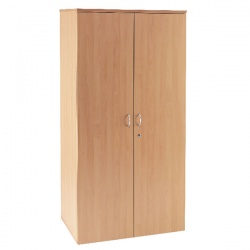 Jemini 1800mm Cupboard 4 Shelf Beech KF838426