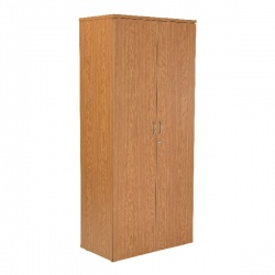 Jemini 1800mm Cupboard 4 Shelf Oak KF838430