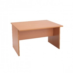 Jemini Intro 1200mm Boardroom Table Mid Section Beech KF838570