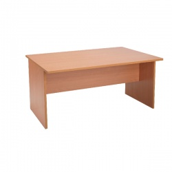 Jemini Intro 1500mm Boardroom Table Mid Section Beech KF838572