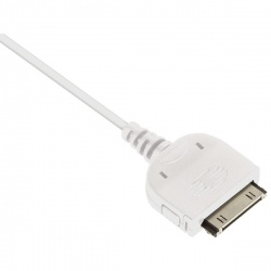 Reviva Apple 30 Pin USB Charging Cable IPUSBDATWHRE