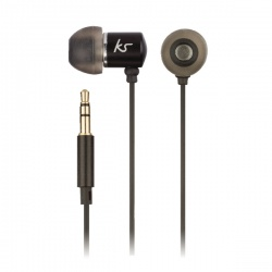 KitSound Ace In-Ear Headphones+mic Black KSACEMBK