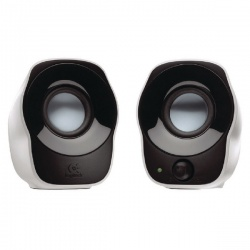 Logitech Z120 Silver/Black Stereo Speakers 980-000513