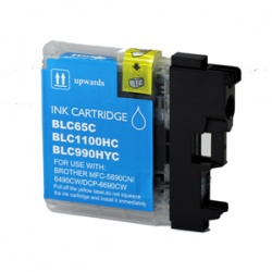 Brother LC1100HYC High Yield Cyan Ink Cartridge - Compatible
