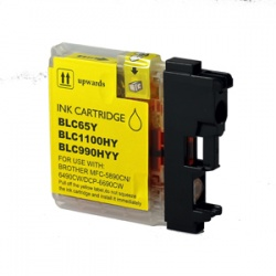 Brother LC1100HYY High Yield Yellow Ink Cartridge - Compatible