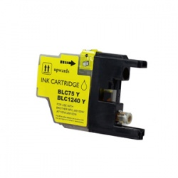 Brother LC1240Y (LC1240) Yellow Inkjet Cartridge - Compatible