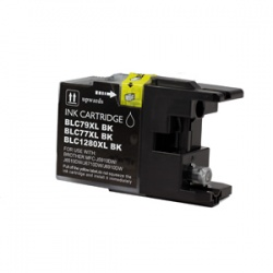 Brother LC1280XL-BK (LC1280XL) Black Inkjet Cartridge - Compatible