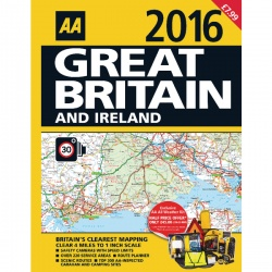 AA Road Atlas Great Britain and Ireland 9780749573560