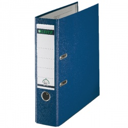 Leitz 180° Lever Arch File Polypropylene A4 80mm Blue (Pack of 10) 10101035