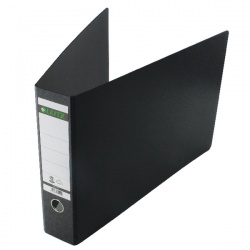 Leitz 180° Lever Arch File A3 Oblong Black (Pack of 2) 310680195