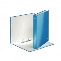 Leitz WOW A4+ 2 D-Ring Binder 25mm Blue (Pack of 10) 42410036