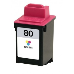 Remanufactured Lexmark 12A1980 (80) Colour Ink Cartridge