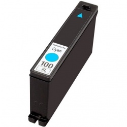 Compatible Lexmark 14N1069E (100XL) Cyan Ink Cartridge