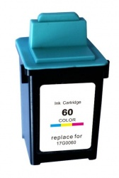 Remanufactured Lexmark 17G0060E (60) Colour Ink Cartridge