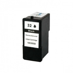 Remanufactured Lexmark 18C0032E (32) Black Ink Cartridge