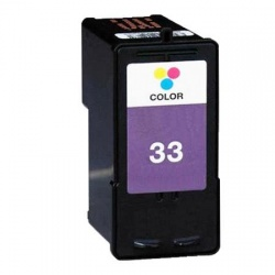 Remanufactured Lexmark 18CX033E (33) Colour Ink Cartridge