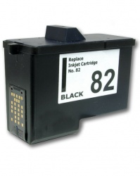 Remanufactured Lexmark 18L0032E (82) Black Ink Cartridge