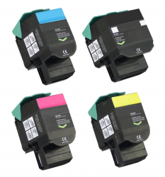 Remanufactured Lexmark 802S Multipack Set of Cartridges