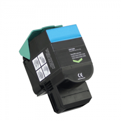 Remanufactured Lexmark 802SC0 (802SC) Cyan Toner Cartridge