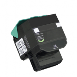 Remanufactured Lexmark 802SK0 (802SK) Black Toner Cartridge