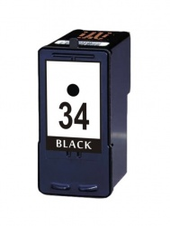 Remanufactured Lexmark 18C0034E (34) Black Ink Cartridge