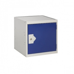 Cube Locker One Compartment Blue Door 380 x 380 x 380mm MC00091
