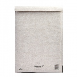 Mail Lite® Plus Bubble Lined Postal Bag Size J/6 300 x 440mm Oyster White (Pack of 50) MLPJ/6