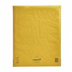 Mail Lite® Bubble Lined Postal Bag Size K/7 350 x 470mm Gold (Pack of 50) MLGK/7